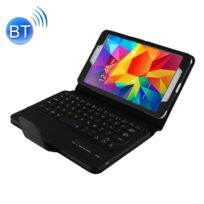 Wewoo - Clavier noir pour Samsung Galaxy Tab 4 8.0 / T330 Séparable Litchi Texture Horizontal Housse en cuir Flip + Bluetooth avec support & Fonction Selfie