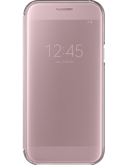 Samsung Clear View Cover Galaxy A5 2017 - Rose
