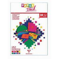 Paper Touch - papier dessin couleur a4 120g assorti - bloc de 20