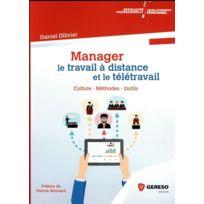 Gereso - manager le travail à distance et le télétravail ; culture, méthodes, outils