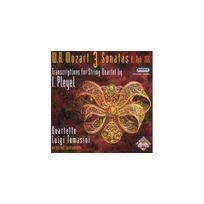 Hungaroton Classics - 3 Sonates K.166 - Transcriptions Pour Quatuor A Cordes De Pleyel