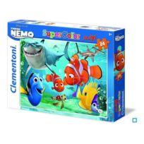 Clementoni - Nemo Puzzle super color maxi 24p