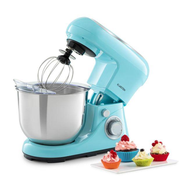 KLARSTEIN Bella Pico 2G Robot de cuisine 5 litres 6 vitesses 1200W - bleu
