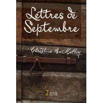 7 Ecrit - Lettres de septembre