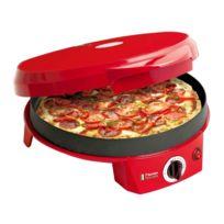 bestron - Four de table pour : pizzas, tartes flambées, quiches - Nombreuses recettes incluses
