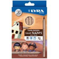Lyra - crayon de couleur gros module - etui de 12