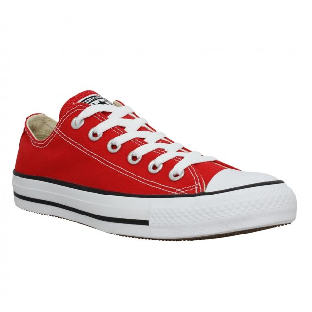 Converse - Chuck Taylor All Star toile Homme-44-Rouge - pas ...