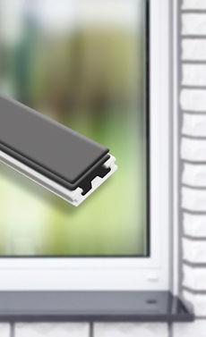 Moustiquaire Cadre fixe Fenêtre Magnetique - Pvc Blanc L120 x H140 cm à découper soi-même