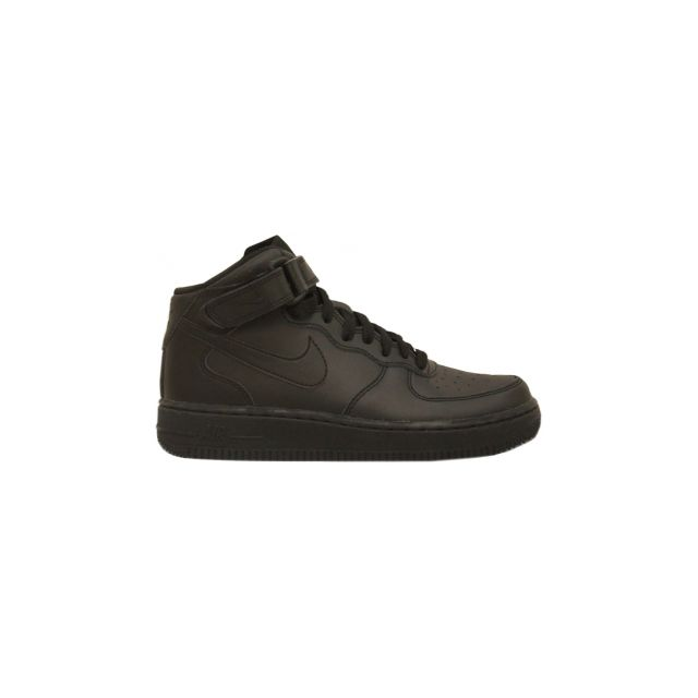 finest selection bf40c dcac2 Nike - Basket Nike Air Force 1 Mid Junior Noir 314195-004