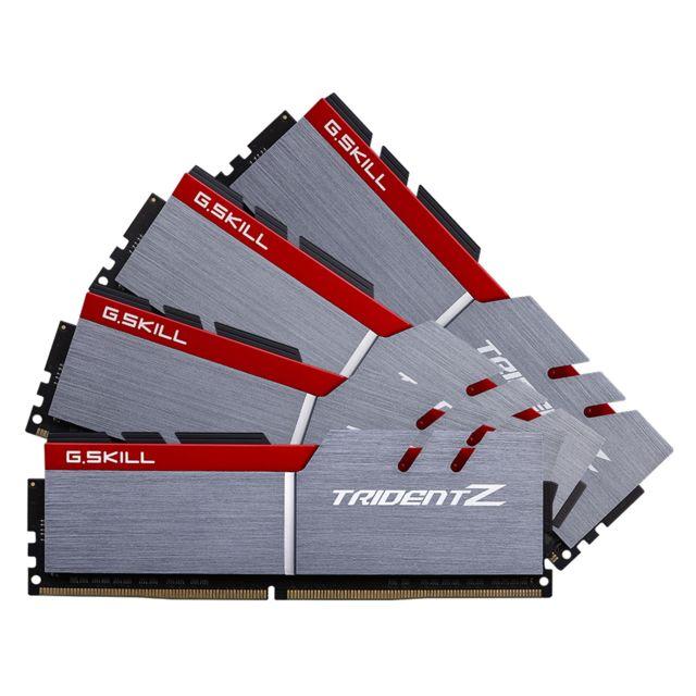G.SKILL - Trident Z 32 Go 4 x 8 Go DDR4 3200 Mhz Cas 14