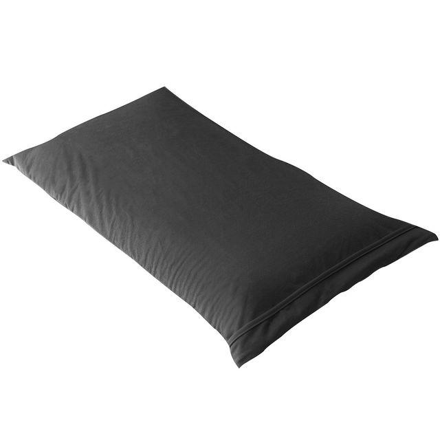 altobuy fresh taie d 39 oreiller 70x40cm noire imperm able et respirante 40cm x 70cm pas. Black Bedroom Furniture Sets. Home Design Ideas
