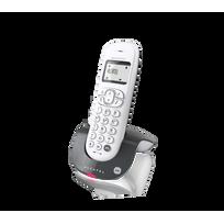 ALCATEL - Téléphone Fixe Sans fil avec répondeur C250 Solo Gris