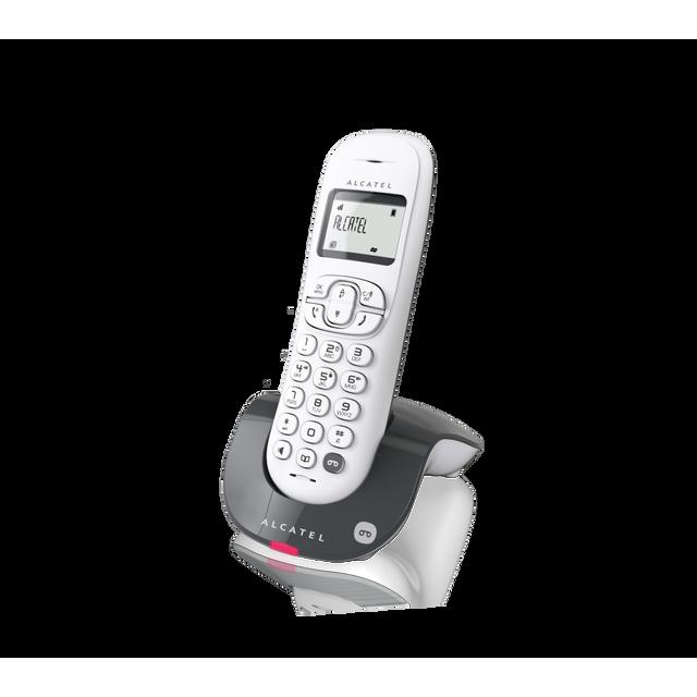 alcatel t l phone fixe sans fil avec r pondeur c250 solo. Black Bedroom Furniture Sets. Home Design Ideas