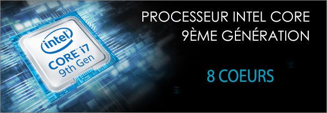 MSI - Processeur Intel Core i7 9th