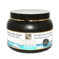 Health and Beauty - Dead Sea Minerals - Mer Morte cosmétique - Health and Beauty Dead Sea Minerals - Masque traitant pour cheveux à la boue de la Mer Morte - 250 ml