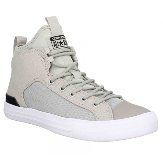 e505a2ab78ffe Converse - Chuck Taylor All Star Ultra Mid toile Homme-40-Gris - pas cher  Achat   Vente Baskets homme - RueDuCommerce