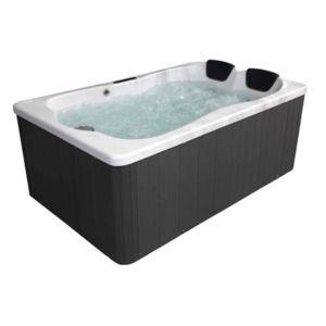 spark spa rigide rectangle 2 personnes 25 jets 180x116x74cm pas cher achat vente spas. Black Bedroom Furniture Sets. Home Design Ideas