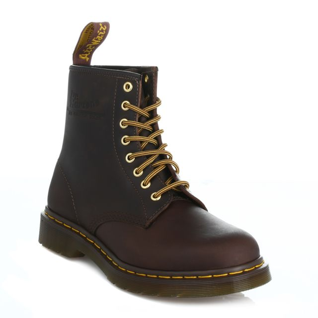 DrMartens Crazy Unisex Horse Ankle Leather Aztec 1460 Brown vmnOPN0y8w