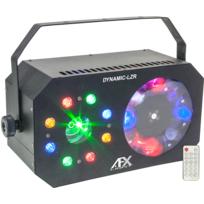 Afx - Jeux de lumière - Dynamic-Lzr Triple effets avec Laser