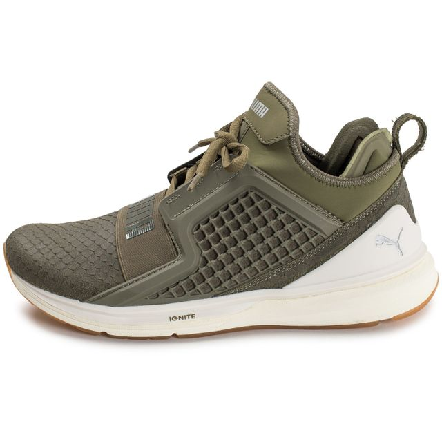 fc9e4d1ebb Puma - Ignite Limitless Reptile Olive Vert - 44 - pas cher Achat ...