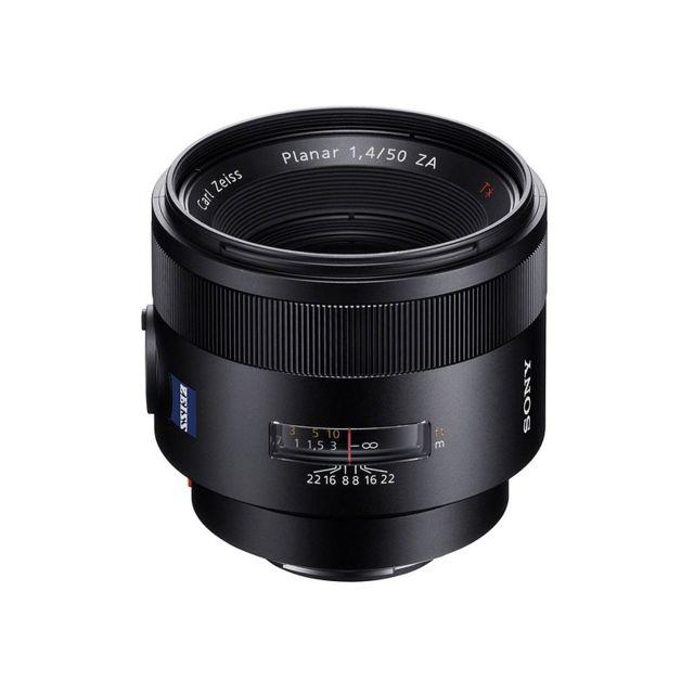 Sony Objectif Sal 50 mm f/1.4 Za Ssm Planar T Garanti 2 ans
