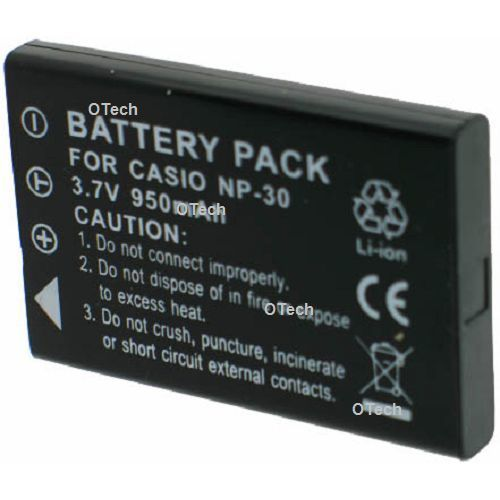 Otech batterie appareil photo pour pentax optio 431