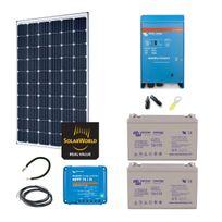 Myshop-solaire - Kit solaire 300w autonome hybride premium
