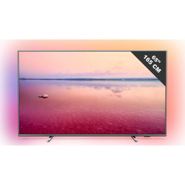 """PHILIPS TV LED 65"""" 164 cm - 65PUS6754 Un spectacle saisissant, une immersion complète, un divertissement optimal, le téléviseur Philips 65PUS6754 dynamise votre quotidien ! Une image Ultra HD HDR de 164 cm - Enveloppe sonore de 20 Watts."""