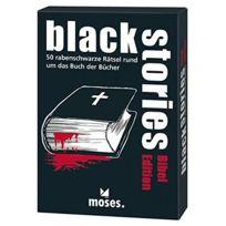moses. - 108306 De Jeu Black Edition-stories Bible