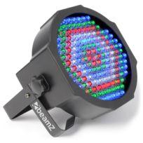 BEAMZ - LED FlatPAR 154x 10mm RGBW infrarouge