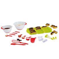 Kitchen Artist - Set 12 accessoires pâtisserie - Men345 + Set pour mini éclairs - Men299