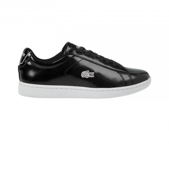 5610ed801f8 Lacoste - Chaussures Carnaby Evo Prv Black - pas cher Achat   Vente Baskets  femme - RueDuCommerce