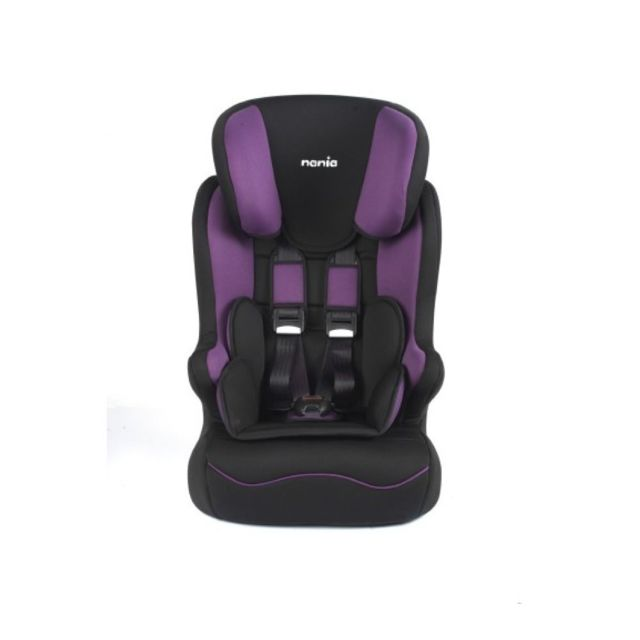 nania si ge auto b b speedy luxe groupe 1 2 3 violet noir pas cher achat vente. Black Bedroom Furniture Sets. Home Design Ideas