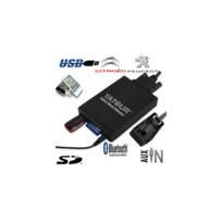 Auto-hightech - Adaptateur Interface Autoradio iPod Auxilliaire Sd Usb Citroen C2 C3 Pluriel C3 et C4 Picasso Ds3 Ds4 Ds5 C5 C6 C8 Nemo Jumpy