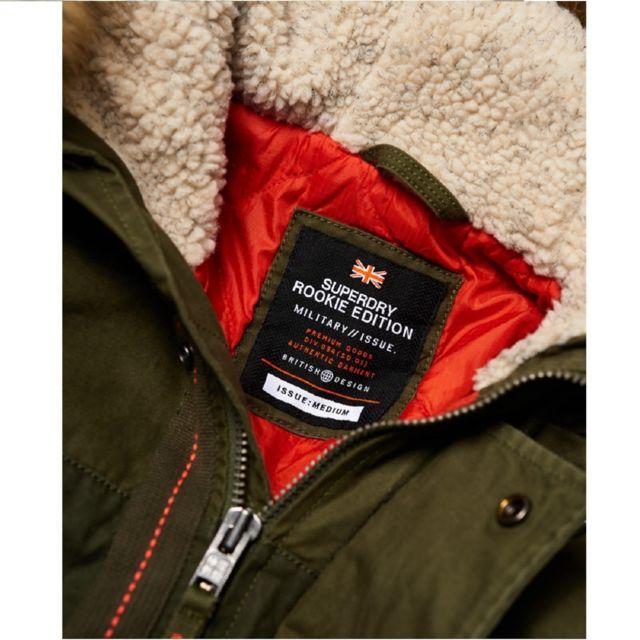 SUPERDRY Manteau Rookie Heavy Weather Parka Jacket