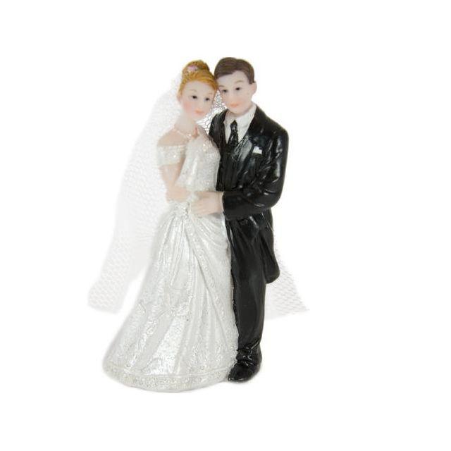 Figurine mariés 8 cm