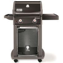 Weber - Barbecue a gaz Spirit Eo-210 - 2 brûleurs - Acier émaillé - Noir