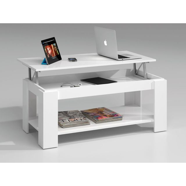 Ambit Table Basse A Plateau Relevable