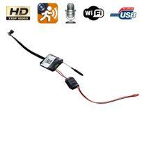 Mini Caméra Espion Wifi Hd 720p Détection De Mouvement Smartphone Iphone Pc  Usb