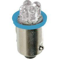 Adnauto - 5x Ampoules led Ba9s bleu 24V