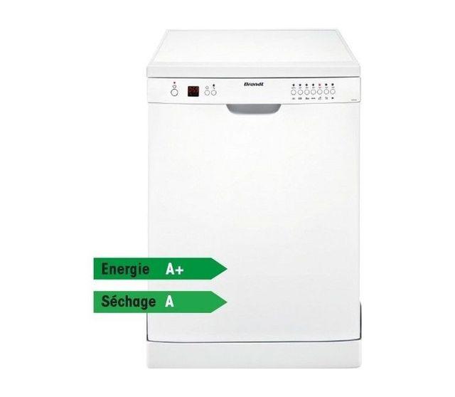 Brandt - Lave-Vaisselle DFH12127W