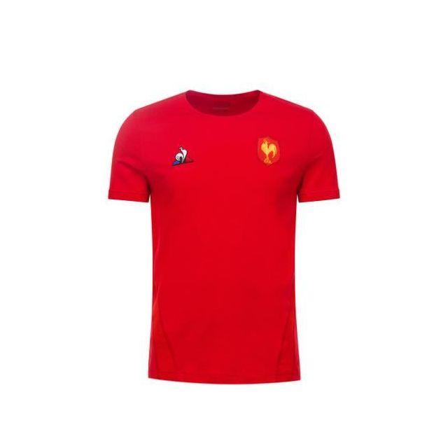 Sportif Ffr Le T Shirt Coq Achat Cher Pas Rouge TailleXl W2YHED9I