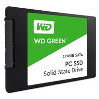 "Ssd interne Wd Green 120 Go 2,5"" 7mm cased Sata Iii 6 Gbits/s"