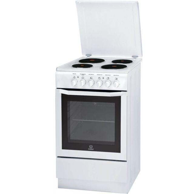 Véritable indesit four supérieur blanc grill bouton