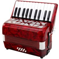 Classic Cantabile - Secono Enfants, 8 basses rouge