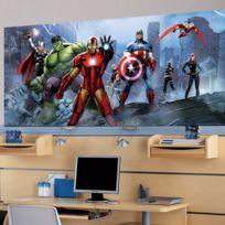 Bebe Gavroche - Poster géant équipe Avengers Marvel 202X90 Cm