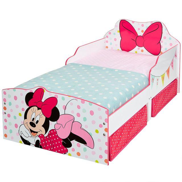 Worlds Apart Lit enfant Minnie Disney Noeud avec tiroirs de rangement