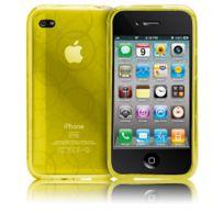 Case Mate - Housse Case-Mate Gelli jaune pour Apple iPhone 4