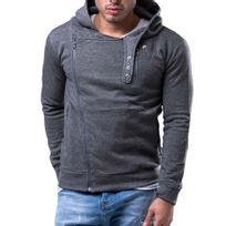 Cincjeans - Sweat capuche fashion Sweat gris foncé 2251