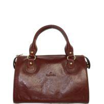 38d8b98e01 Sac a main cuir marron - catalogue 2019 - [RueDuCommerce - Carrefour]
